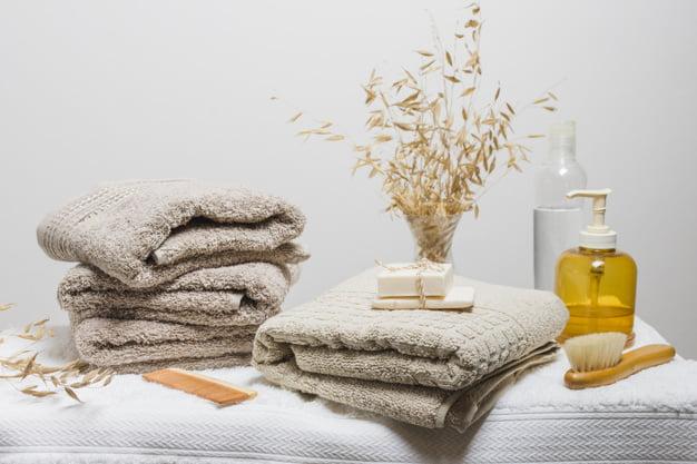 Toalhas de banho: veja alguns cuidados que você precisa ter